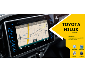 Cyberaudio Toyota Hilux İnterface Multimedya  Android ve Navigasyon