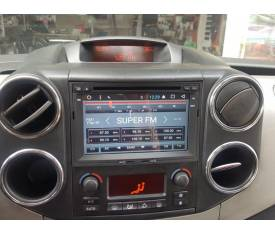 Cyberaudio Peugeot Partner 2009-2016 Model Android 7.1 Navigasyon