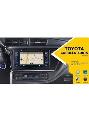 Cyberaudio Toyota Corolla İnterface Multimedya  Android ve Navigasyon