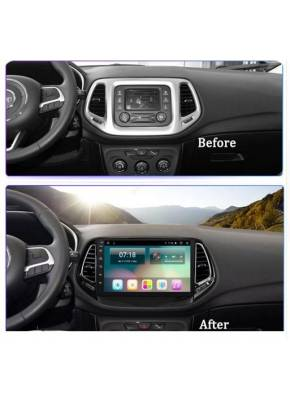 Cyberaudio Jeep Compass 2017  Android 8.1 Multimedya  Navigasyon