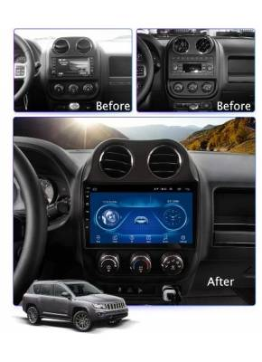 Cyberaudio Jeep Compass  Android 8.1  Multimedya  Navigasyon