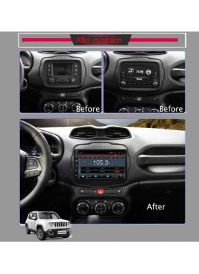 Cyberaudio Jeep Renegade Model  Android 8.1 Navigasyon