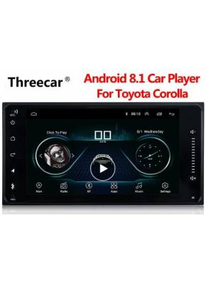 Cyberaudio Toyota Camry 2003-2006 Model Android 8.1 Navigasyon